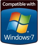 Logo Compatibilità con Windows 7