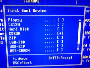 Ordine boot dal bios 4