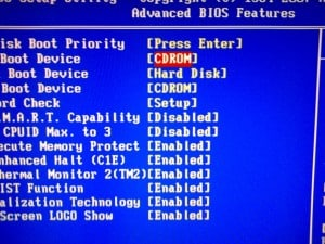 Ordine boot dal bios 5