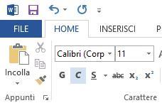 Proteggere i documenti di Office 2013 con password - Menu' File