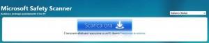 Guida a Microsoft Safety Scanner