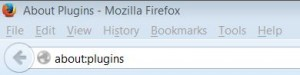about plugins in Firefox