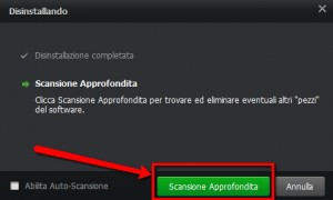Iobit Uninstaller Free Scansione Approfondita