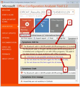 office-configuration-analyzer-tool-dettaglio-risultati-scansione