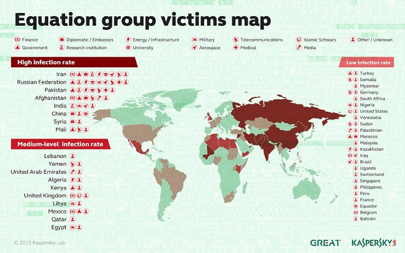 mappa-paesi-spionaggio-informatico-equation-group