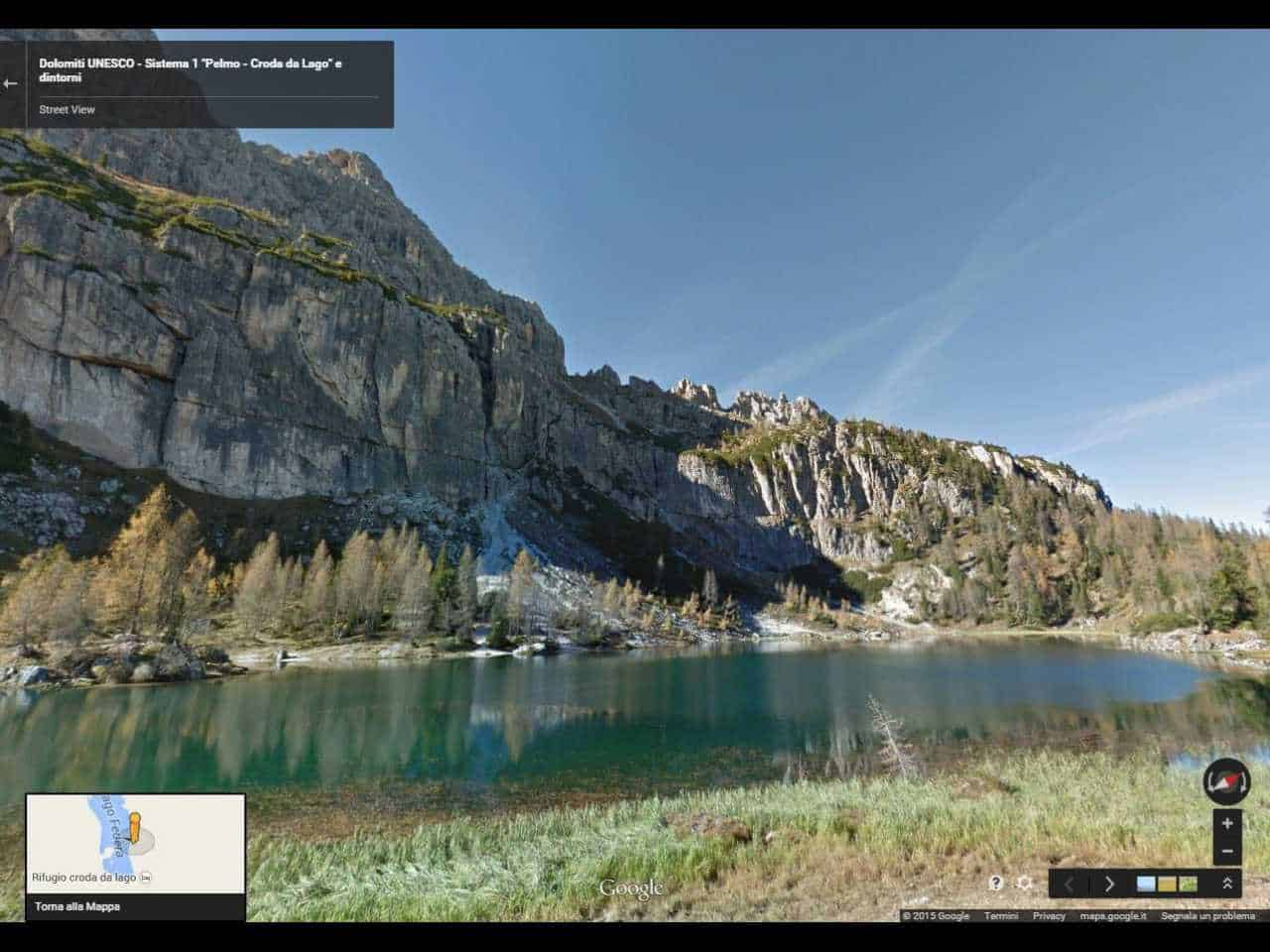 google-stret-view-dolomiti-unesco