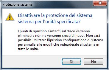 conferma-disattivazione-protezione-sistema