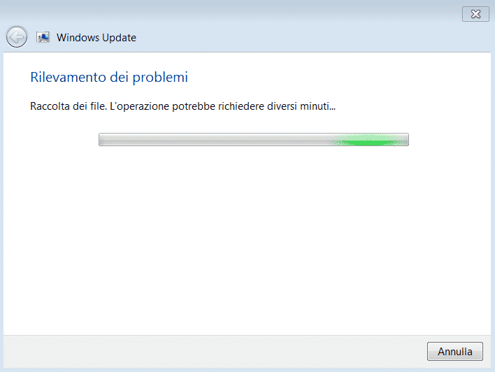 Windows Update - analisi dei problemi