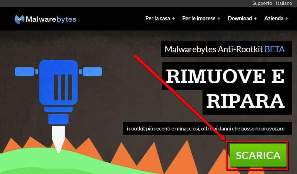 Scaricare Malwarebytes Anti-rootkit