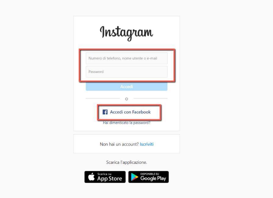 come-accedere-da-instagram-web